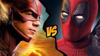 How to Draw Deadpool Flash | ART CHALLENGE