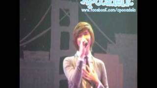 101107  Changhyun Solo solo @ Thanks Party Only You & SHU-I Concert {full song}