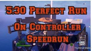 Perfect Run [5:30] Juscotti's Insane Deathrun 2.0 Speedrun   On Controller!