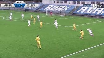 Treningskamp: Arendal Fotball - FK Jerv, 12.02.2020
