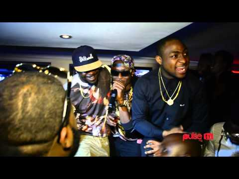 Davido's 21st Birthday Party At Pravada Lounge, Victoria Island, Lagos | Pulse TV