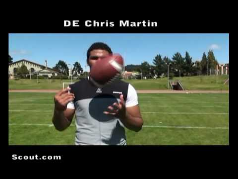 Cal Football Recruiting Commitment Chris Martin