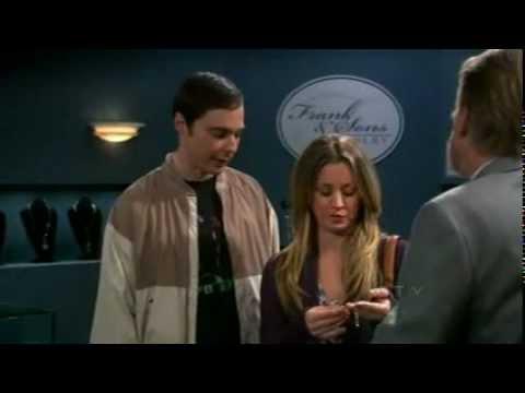 Sheldon demonstrating Carbon and Diamond to salesman - The Big Bang Theory funniest talks 11