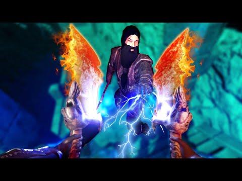 GOD OF WAR EM REALIDADE VIRTUAL! - Blade & Sorcery ⚔