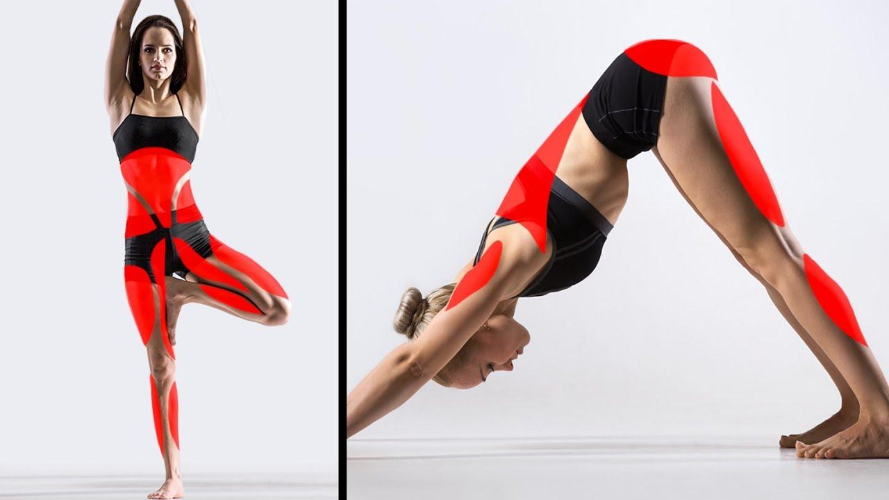 15 Posturas de yoga que pueden cambiar tu cuerpo - YouTube 3a4ba3447f6c