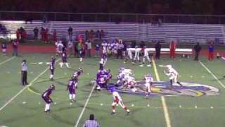 Southfield Jayhawks vs. Eastside Raiders (A-Team):Game Highlights (10-17-2009)