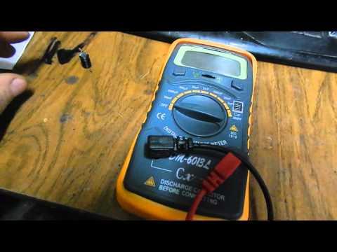 обзор прибора для измерения ёмкости конденсатора