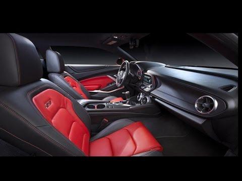 2016 Chevrolet Camaro Maroon Interior
