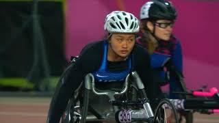 Yen Hoang Wins Gold In Women's T53 400m | Parapan American Games Lima 2019