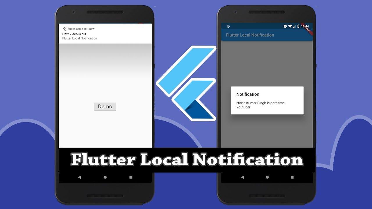 Flutter Local Notification - Nitish Kumar Singh - Medium