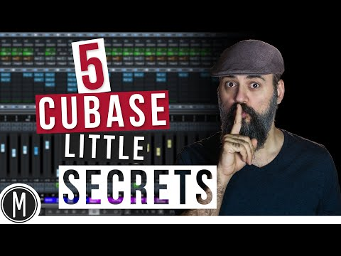 5 CUBASE little SECRETS you need to know