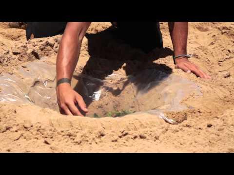 Comment distiller de l'eau de mer - Solar still