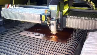 Découpe de matériaux au laser