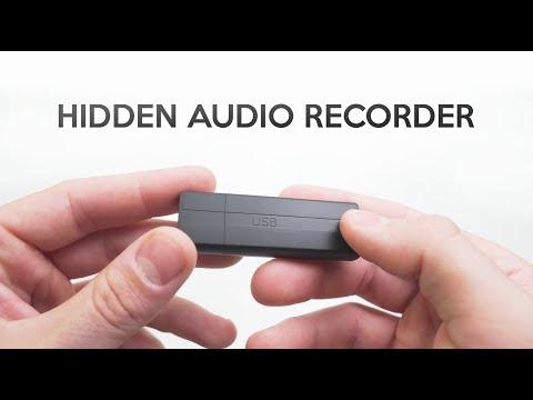 This USB Stick Secretly Records Audio!
