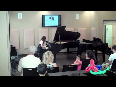 Ms. Liu--Music Institute of North Texas Piano