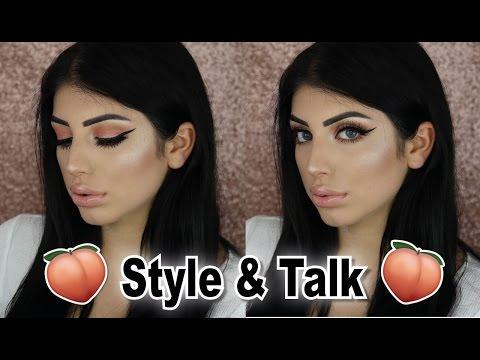 Style & Talk - Peachy Makeup - Mit YouTube geld verdienen? Schönheitsoperation?   Alegra