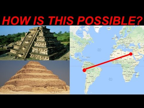 Pyramids of Egypt and Ancient Inca CONNECTION in Peru, South