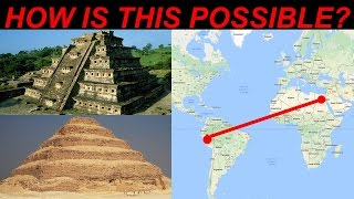 Pyramids of Egypt and Ancient Inca CONNECTION in Peru, South America! Lost Ancient High Technology