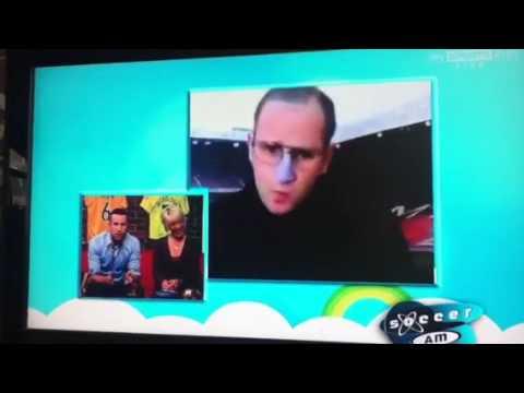 Soccer A.M sir Alex ferguson on Skype
