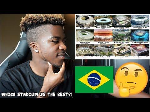 THE BEST FOOTBALL STADIUMS IN BRAZIL 😍🇧🇷