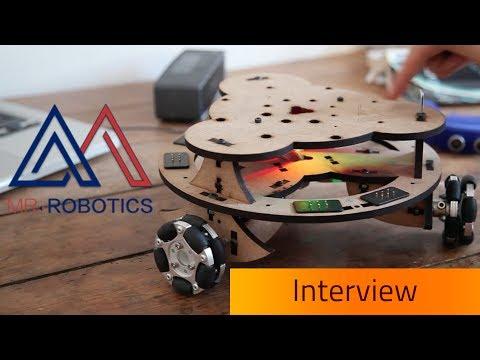 MR. ROBOTICS - De l'apprentissage au prototypage [Interview]