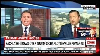 Corey Stewart Has Testy Exchange with CNN's Chris Cuomo