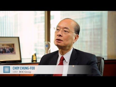 Choy Chung-Foo on Renminbi insurance | BOC Group Life Assurance | World Finance Videos