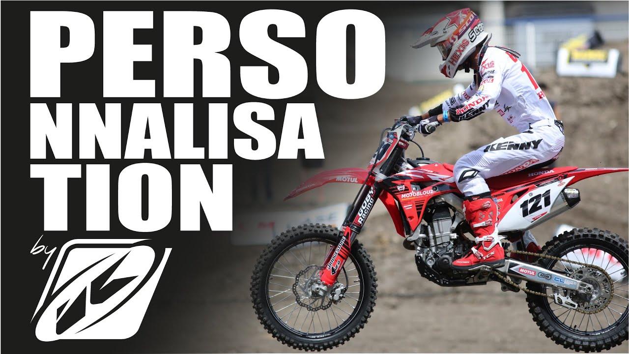 Comment Personnaliser Sa Tenue De Motocross Kenny Racing Youtube