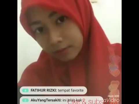 Bigo Live Jilbab Buka Bra Ungu Pamer Gunung kembar