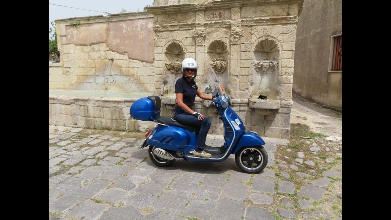 Sycylia ze skutera. Zamek w Buscemi 14 maja 2020r.