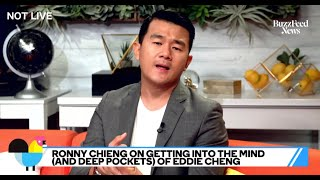 "Ronny Chieng Says He Got Really Sweaty Filming ""Crazy Rich Asians"""