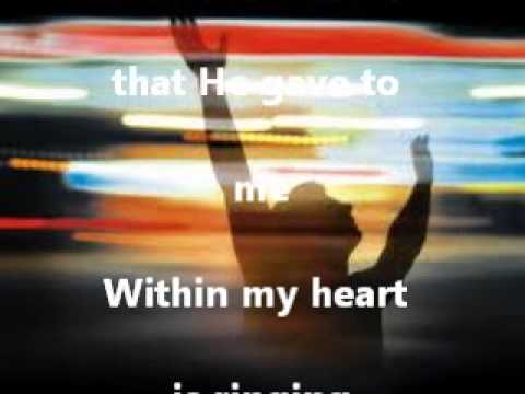 In the garden ( Instrumental Karaoke style with lyrics )