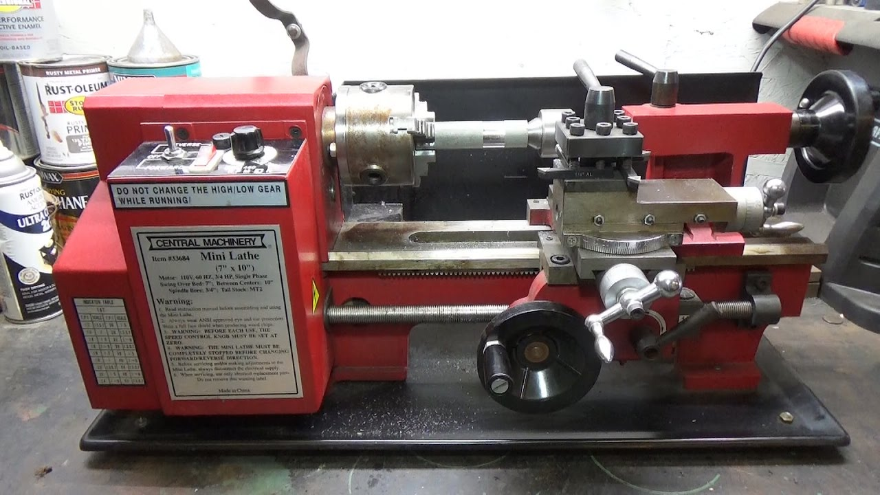 Central Machinery Lathe Chuck