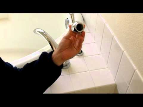Moen Bathtub Faucet Handle Repair - YouTube