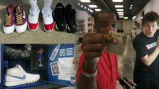 MOST EXPENSIVE PAIRS OF KYRIE IRVINGS! HEAT PICKUPS! W/Jesser & LSK SneakerHead Shoe Vlog Ep.33.5
