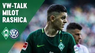 Volkswagen-Talk mit Milot Rashica | Werder Bremen - RB Leipzig 1:1
