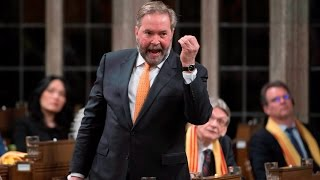 Tom Mulcair says Defence Minister Harjit Sajjan told a 'whopper' about his role in Operation Medusa