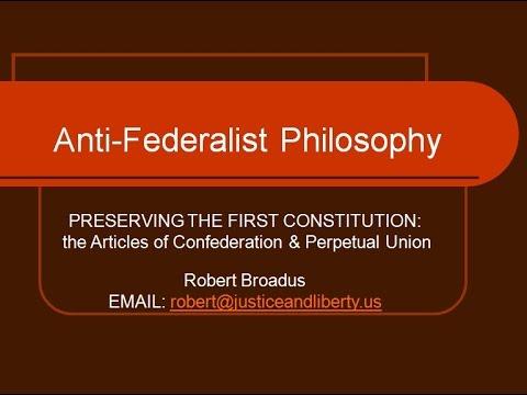 Anti-Federalist Philosophy