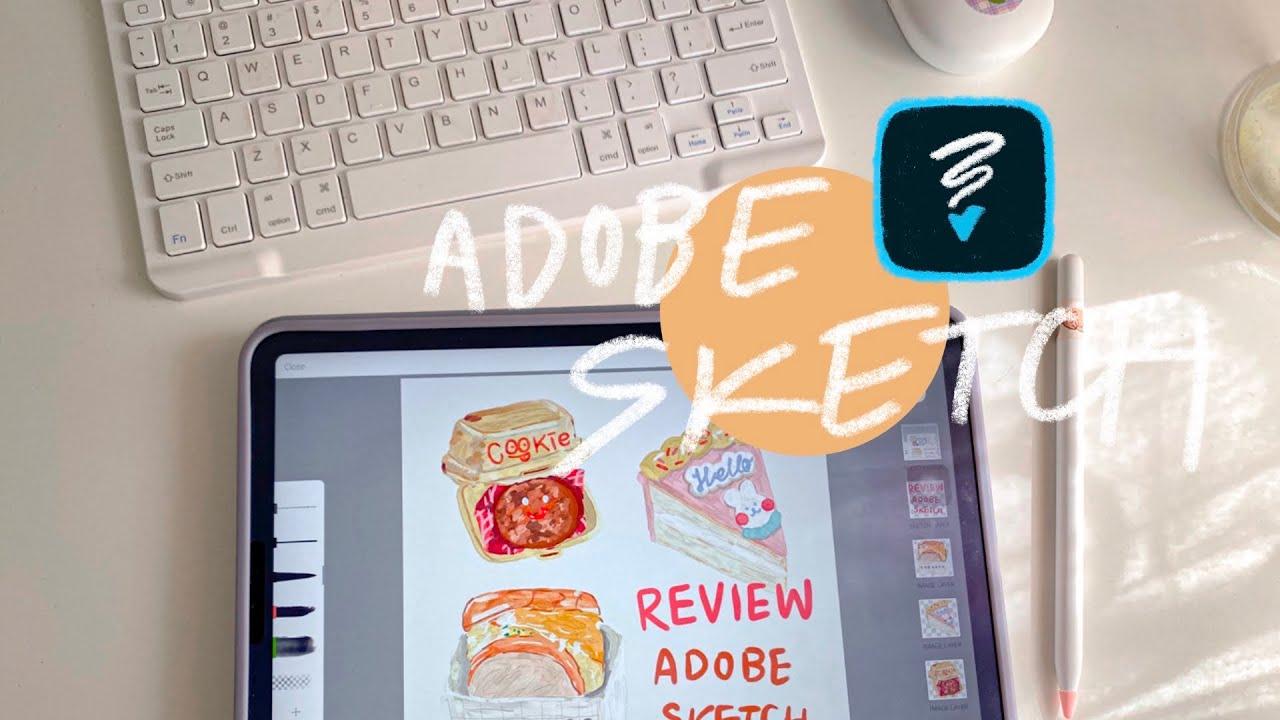 How to use Adobe Sketch for beginning.| วิธีใช้แอพ adobe sketch