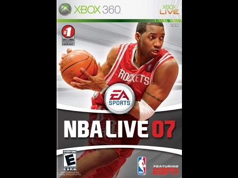 NBA Live 07 - Xbox 360 2006 (Eastern All Star Vs Western All Star 2007 NBA All Star)