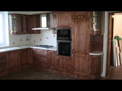 Кухня под старинку. Стиль кантри. Фасады массив ольхи(Furniture,cabinet).