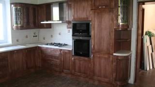Кухня под старинку. Стиль кантри. Фасады массив ольхи(Furniture,cabinet).(, 2016-01-13T06:31:27.000Z)