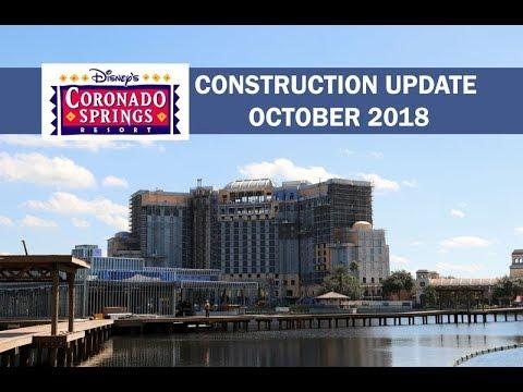 Disney's Coronado Springs Resort Construction Update October 2018
