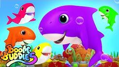 Baby Shark Song | Boo Boo Song | Nursery Rhymes & Kids Song | Baby Cartoon - Boom Buddies