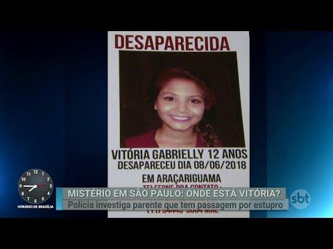 Menina de 12 anos desaparece após sair para brincar em São Paulo | Primeiro Impacto (12/06/18)