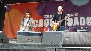 John Mayer and Paul Reed Smith- Eric Clapton's Crossroads Guitar Festival 2019