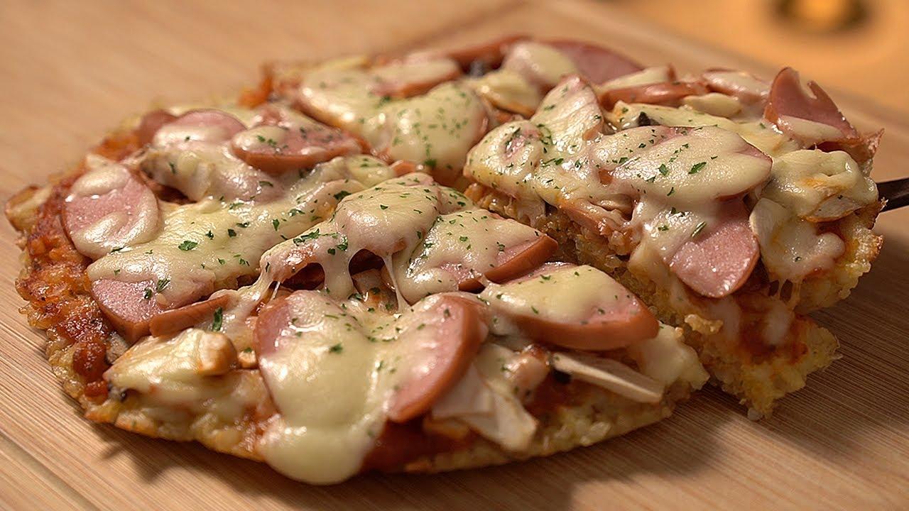 밥도둑 밥피자 Rice Pizza