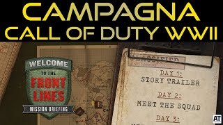 FINALMENTE LA CAMPAGNA DI CALL OF DUTY WWII [WW2 WALKTHROUGH GAMEPLAY ITA]