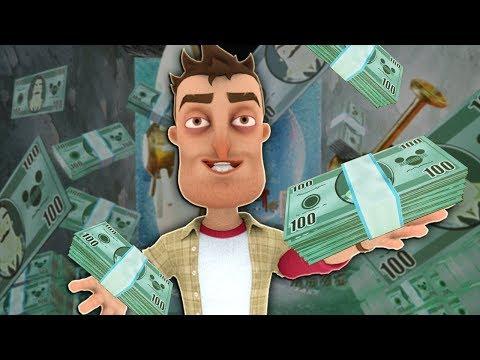 I STOLE FROM MY NEIGHBOR - Hello Neighbor Secret Bank Mod