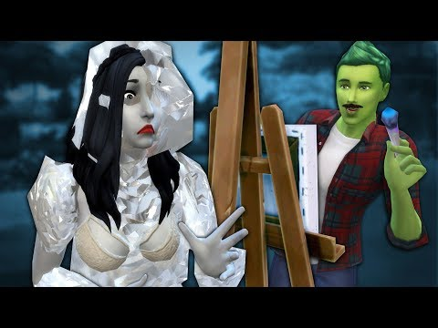 FREEZING TO DEATH FOR ART - The Sims 4 Funny Highlights #140